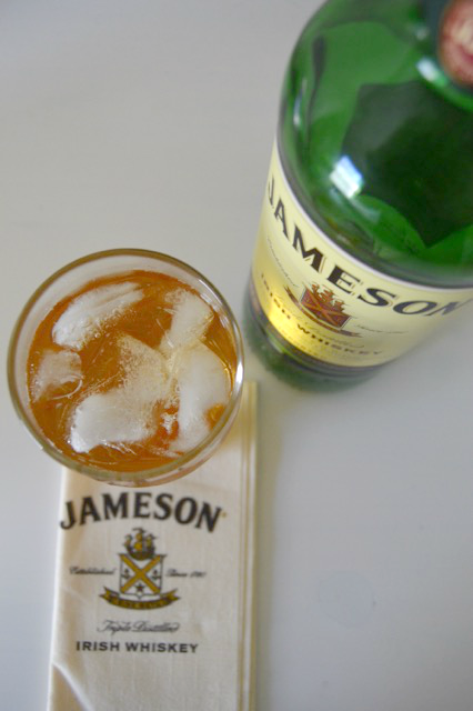 jameson and ginger drink recipe for St. Patrick's day
