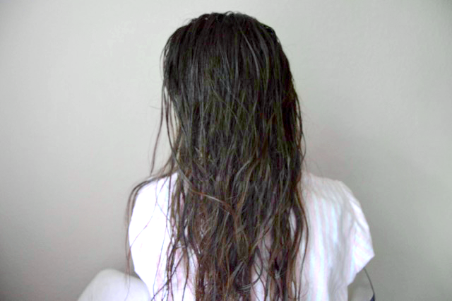 a beauty hack to create no-heat, natural waves