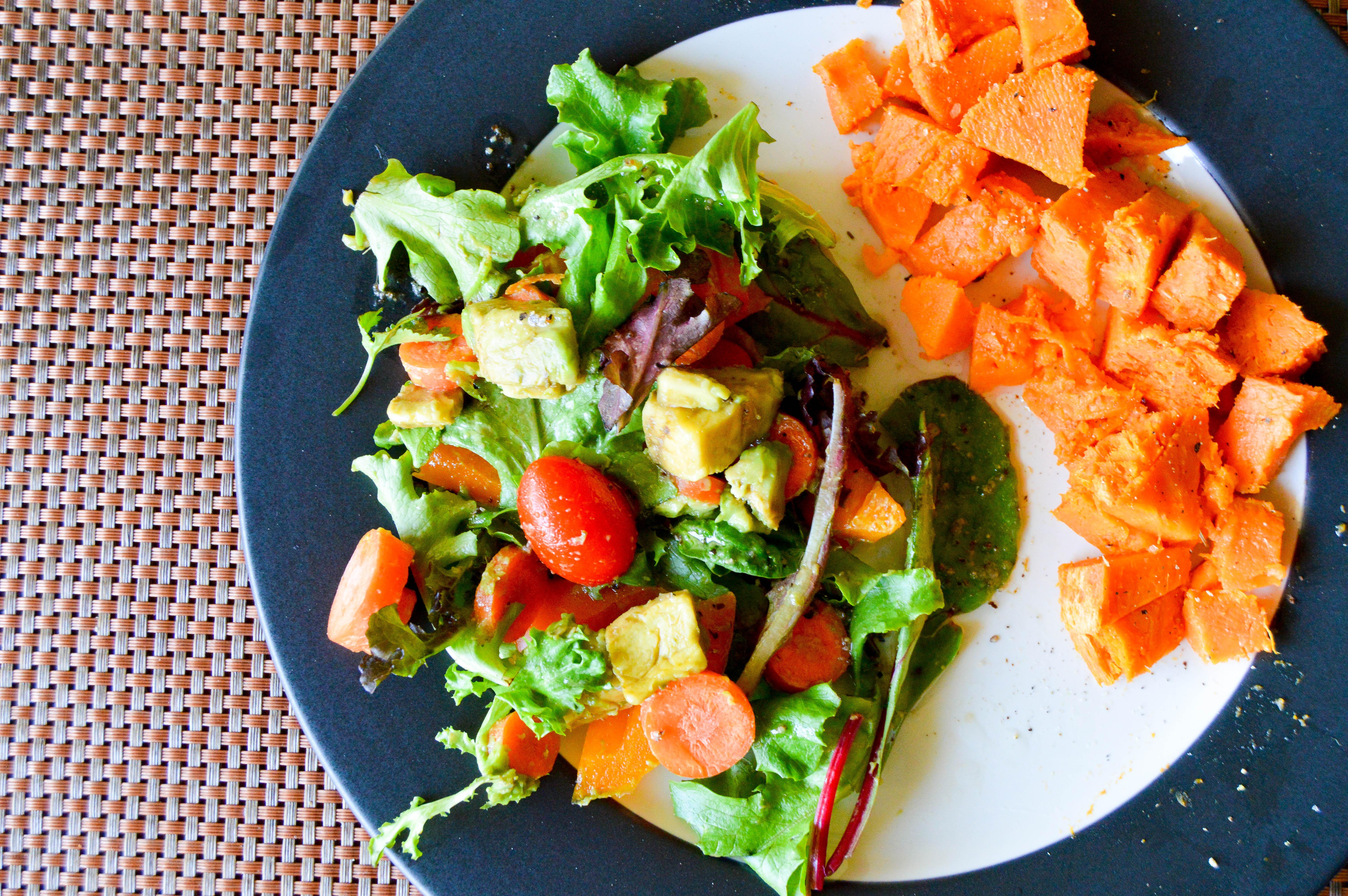 sweet potato recipe, healthy lunch ideas