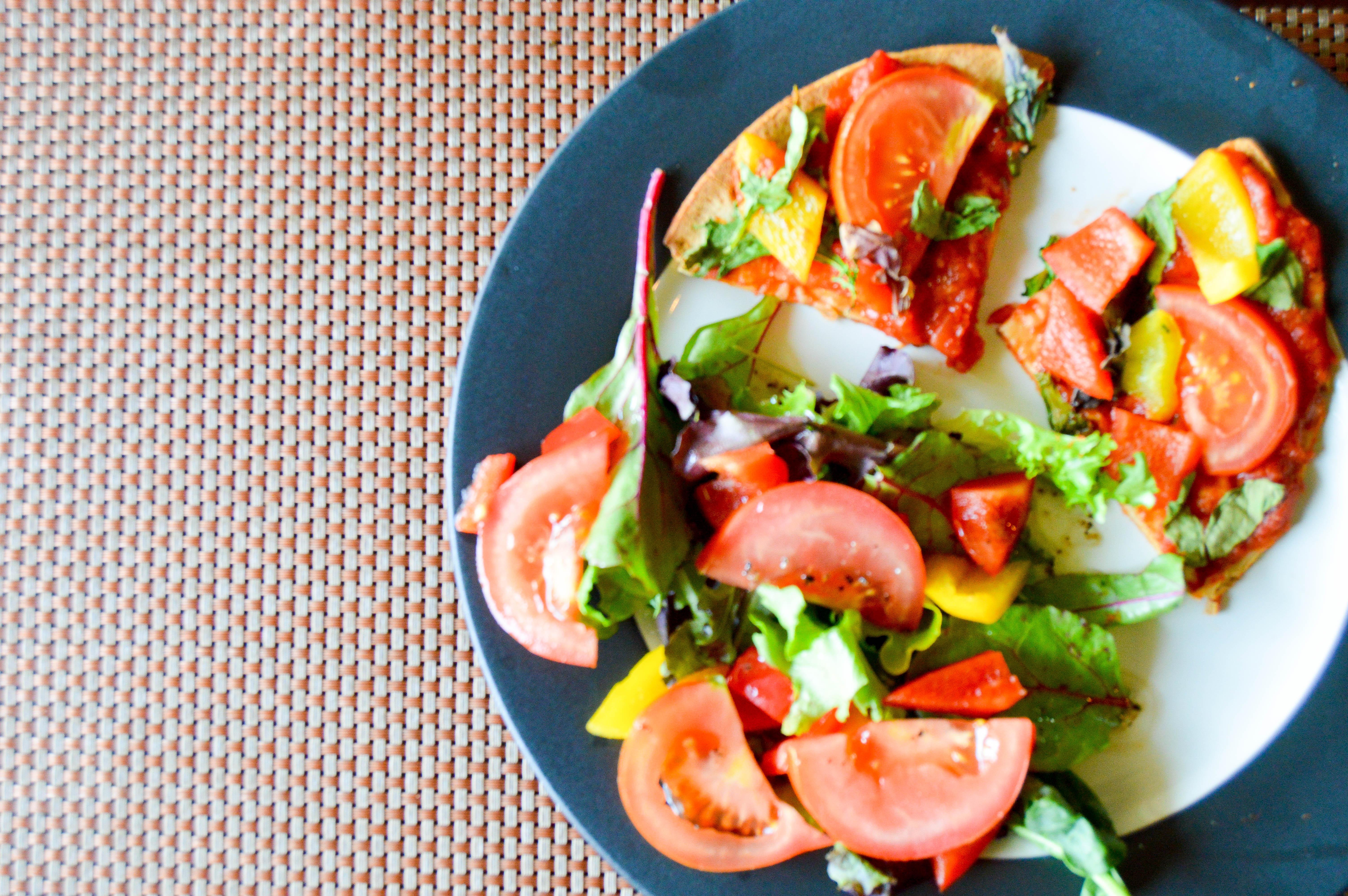 veggie pizza recipe, healthy lunch ideas