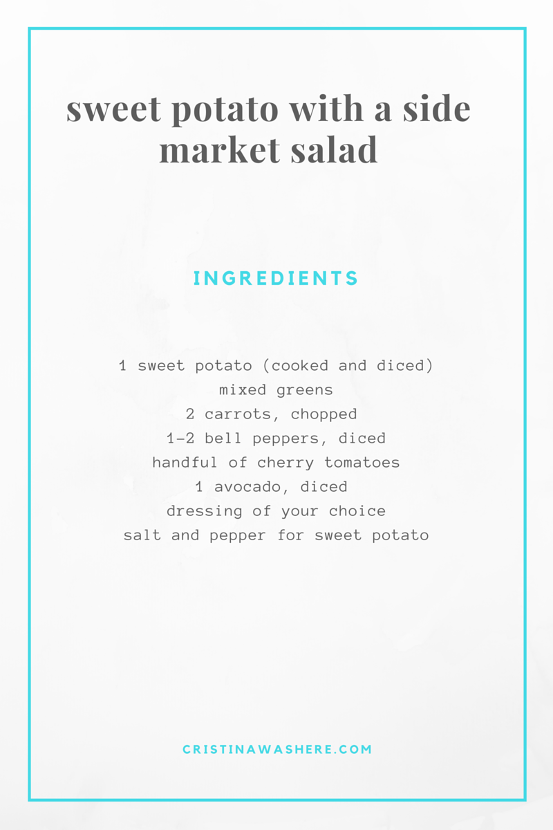 sweet potato recipe, healthy lunch recipe