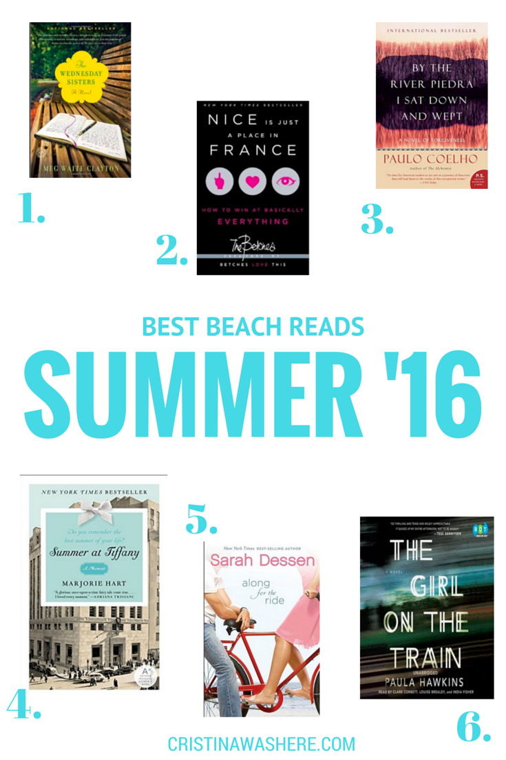Best Beach Reads for Summer 2016