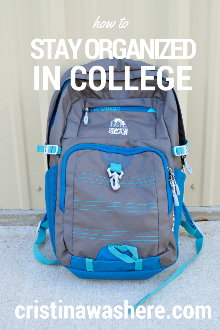 how to stay organized in college, best college backpacks