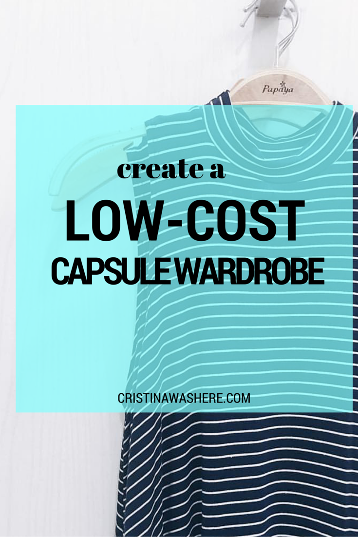 Create a Low-Cost Capsule Wardrobe