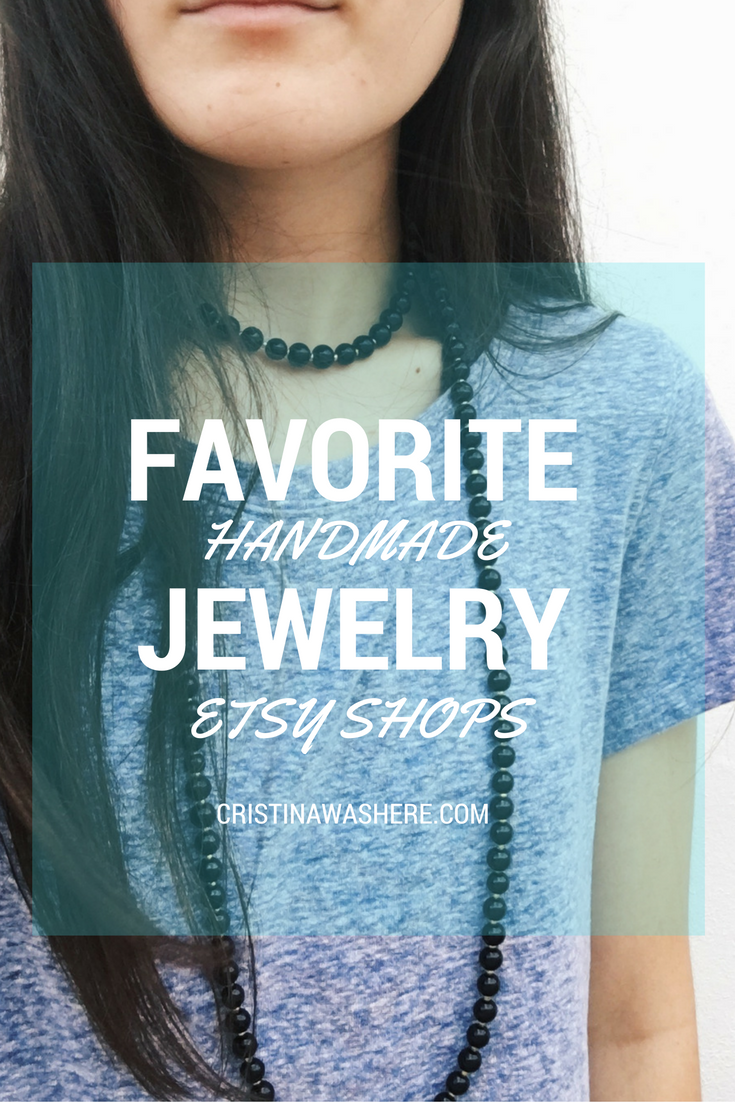My Favorite Handmade Jewelry Etsy Shops