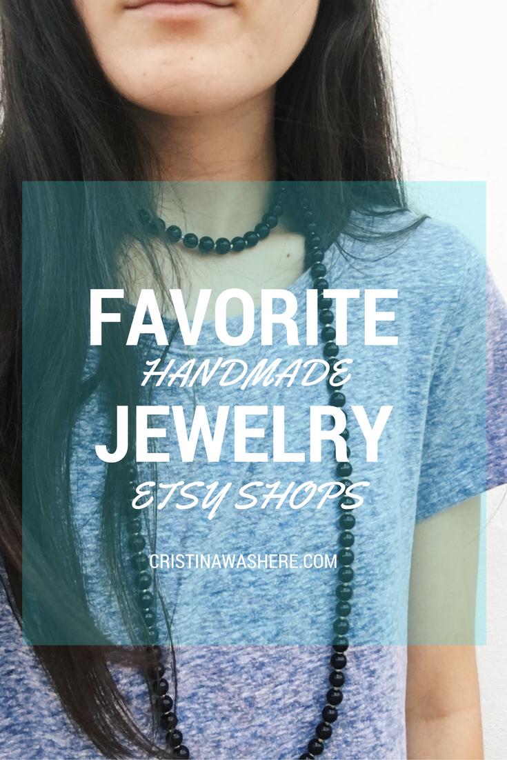 best handmade jewelry etsy shops