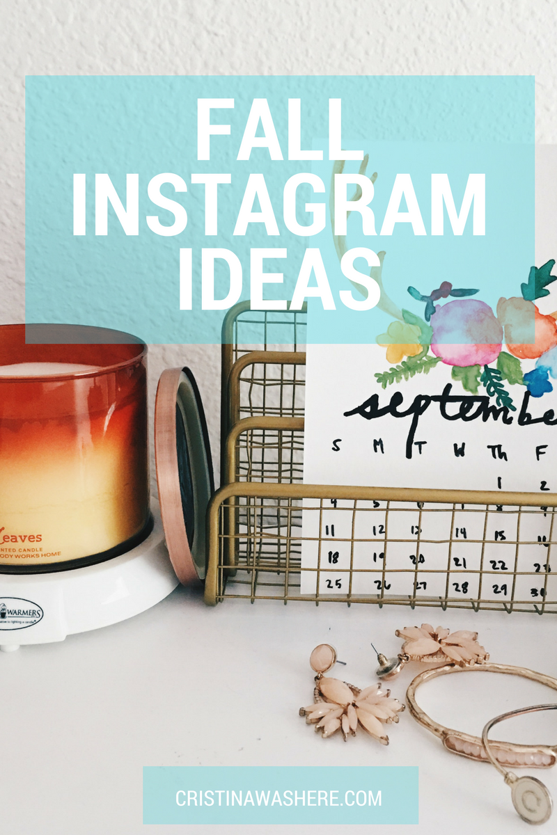 Fall Instagram Picture Ideas + Tips