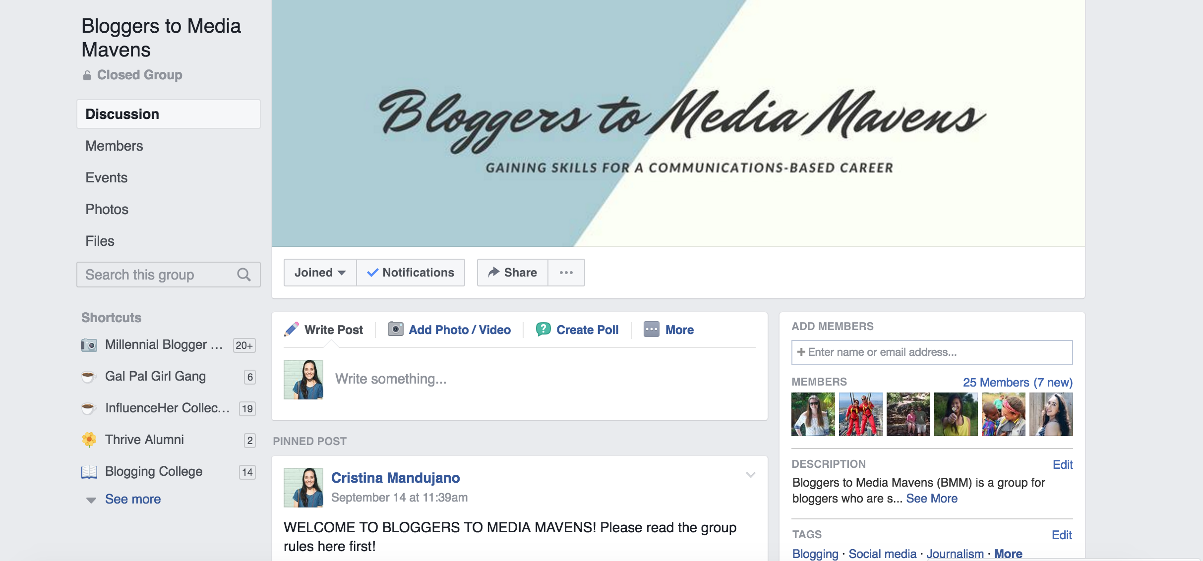 how blogging can help you in your media career