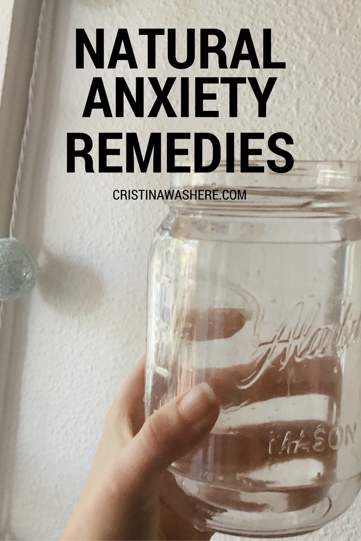 natural ways to get over anxiety