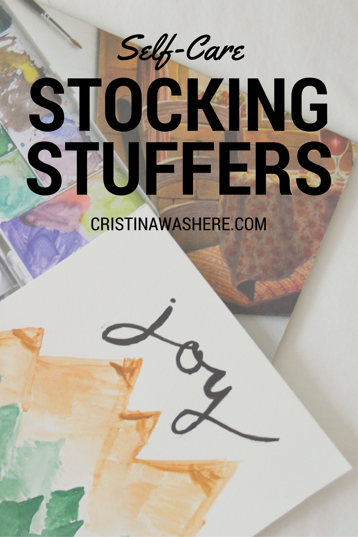 5 Self-Care Stocking Stuffers