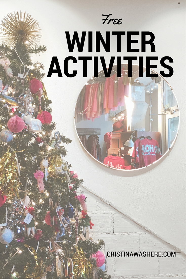 Free Winter Activities To Try This Holiday Season!