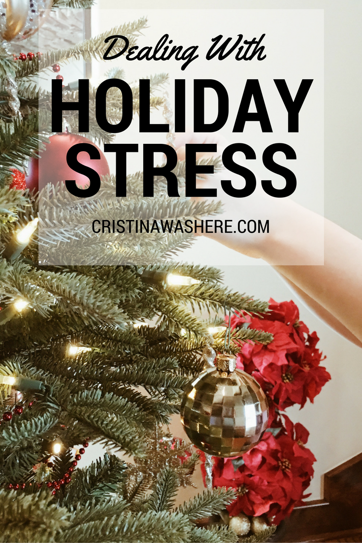 Dealing With Stress During the Holidays