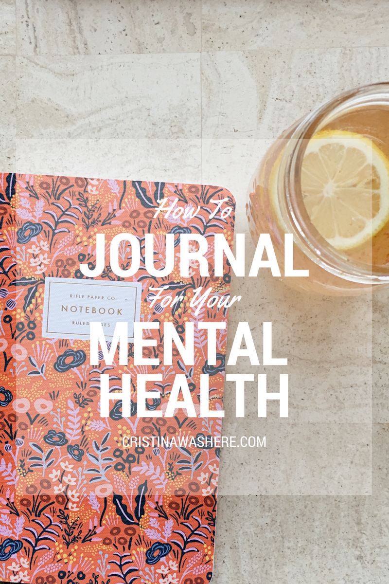mental health journaling