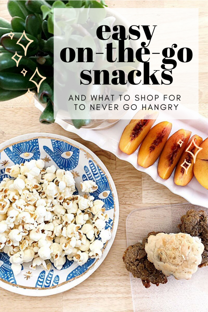 3 Easy, On-The-Go Snacks!