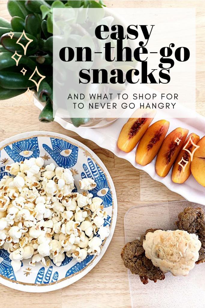 3 Easy, On-The-Go Snacks!