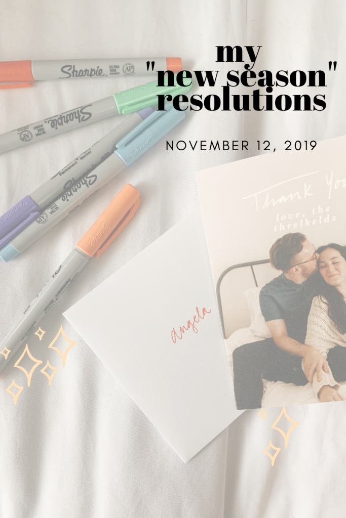 I Created 'New Season' Resolutions – Here's Why